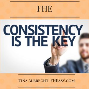 Consistency Counts!