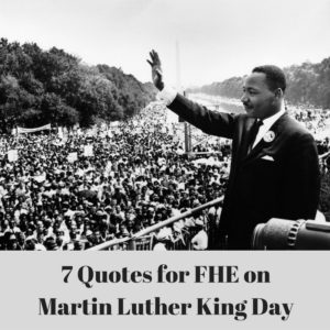 7 Quotes by Martin Luther King